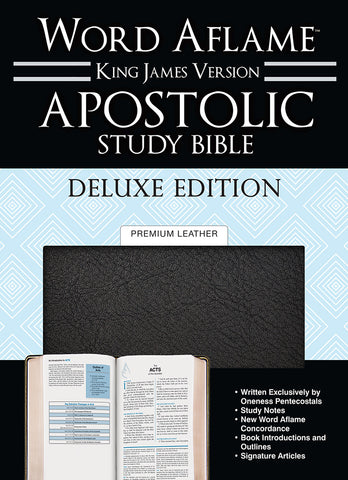 Apostolic Study Bible Deluxe Edition Premium Leather