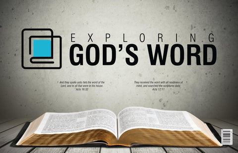 Exploring God's Word Tabletop Chart (Revised)