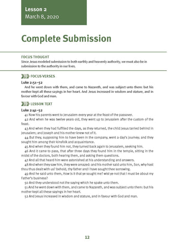 Complete Submission Lesson 2 Adult Spring 2020 (Download)