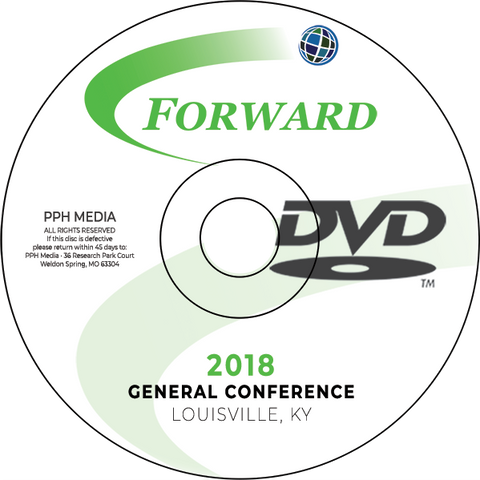 GC 2018 Jerry Jones - Thursday Evening Service DVD