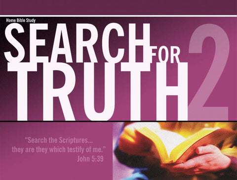 Search for Truth 2 - Small Chart (8.5 x 11) Spiral bound