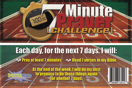 7 Minute Prayer Challenge - Bookmark