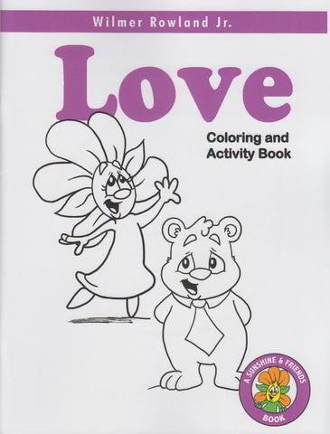 Sunshine & Friends Love Coloring Book