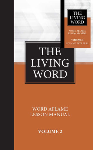 The Living Word Adult Hardbound Volume 2 w/Drop Card Sept 2019 - Aug 2020