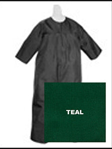 Baptismal Jumpsuit - Teal X-Large