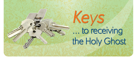 Tract - Keys to Receiving the Holy Ghost (Package of 100)