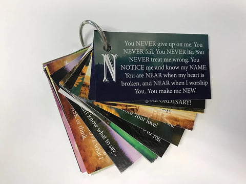 A to Z Praise & Prayers Key Cards