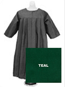 Baptismal Robe - Teal Medium