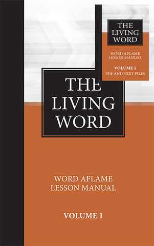 The Living Word Series Adult Hardbound with Dropcard - Volume 1 (2018-2019)