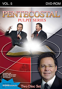 Pentecostal Pulpit Series - Volume 5 - Ken Gurley - WordSearch - CD