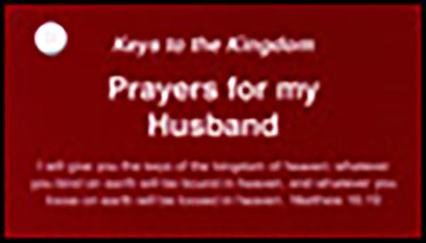 Prayer Keys for My Husband