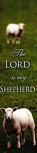 Lord is my Shepherd Psalm 23:6 -  Bookmark