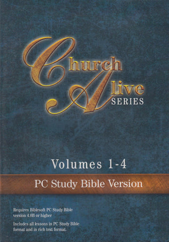 Church Alive Series Volumes 1-4, PC Study Bible Version - CD