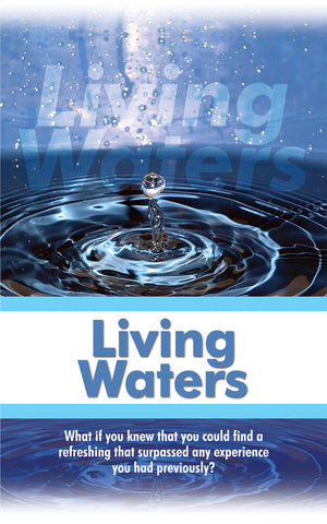 Tract - Living Waters (Package of 100)