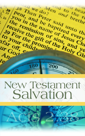 Tract - New Testament Salvation (Package of 100)