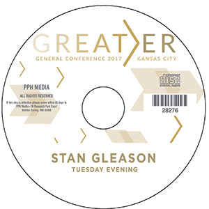 2017 GC - Stan Gleason - NA Mission Svs Tues Eve  CD