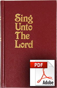 Sing Unto the Lord Songbook (PDF)