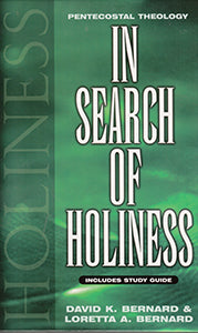 In Search of Holiness with Study Guide - Hardcover