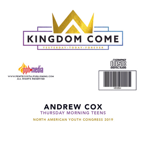 2019 NAYC Andrew Cox Teens Thursday CD