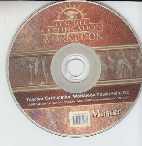 Teacher Certification Workbook (Download)