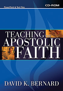 Teaching the Apostolic Faith - CD