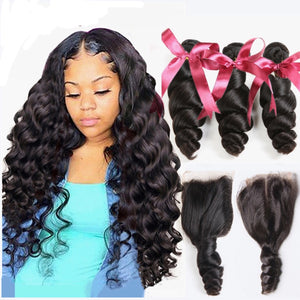 Lustrous Loose Wave Bundles and Closure