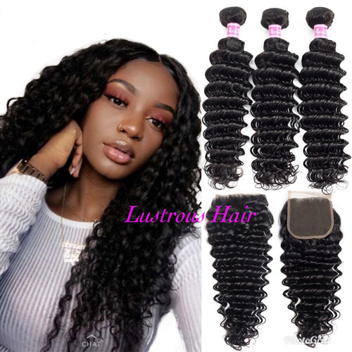 Lustrous Deep Wave Bundles and Closure