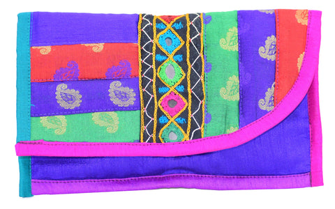 Kutchhi Work Clutch, Traditional Clutch, Embroidery Work Clutch, Ladies Wallet, Purse, Money Wallet