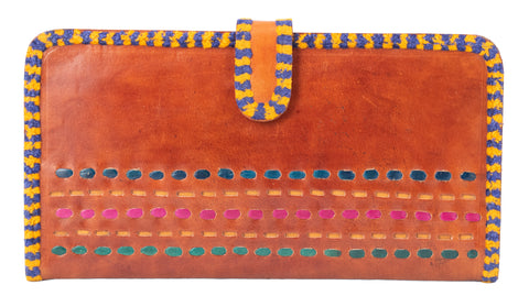 WALLET - LADIES - CARD HOLDER - Punch Work - Leather Art