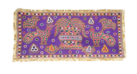 Aahir Work Mirror and Threadwork Hand Embroidery Antique Thread and Mirror Work