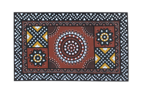 18X30 Inch - Lippan Kam ( Mud Art Handicraft)