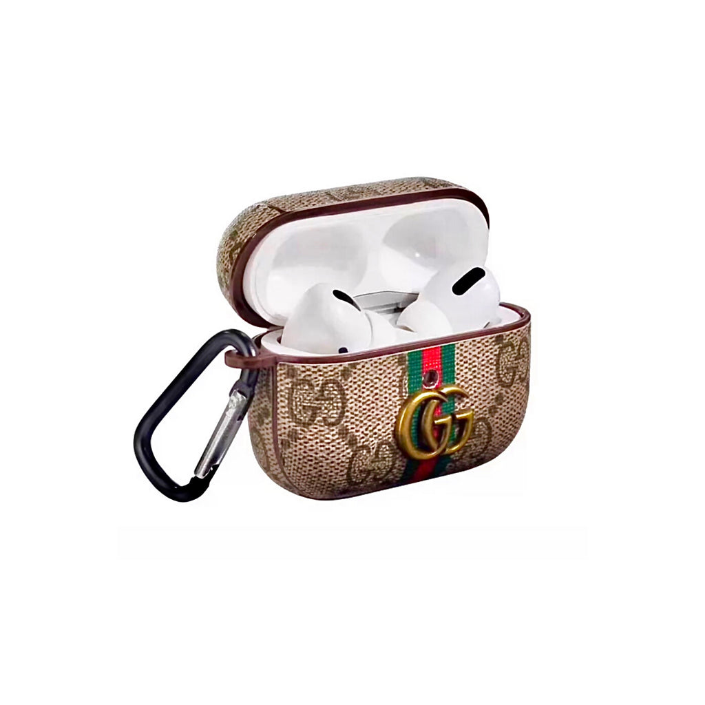 Koolkses Airpods Pro Leather Protective Case Gucci