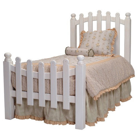 Taylor Cottage Picket Fence Bed By Newport Cottages