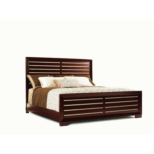 Zacara Icon Panel Headboard and Frame Set in Sable by Lexington | 01 ...