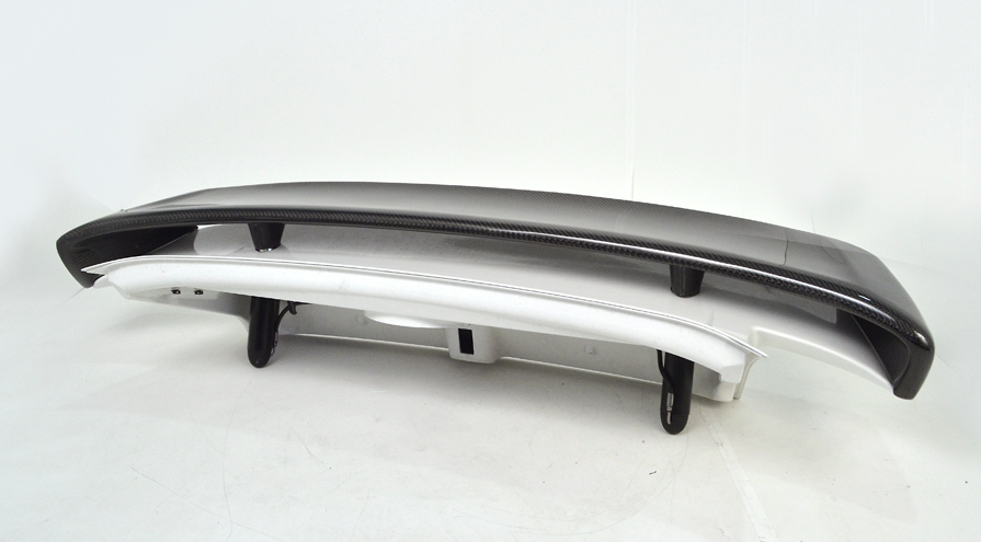 Carbon Fiber Type II Add-On Rear Wing for  PORSCHE 997 TT 07-12