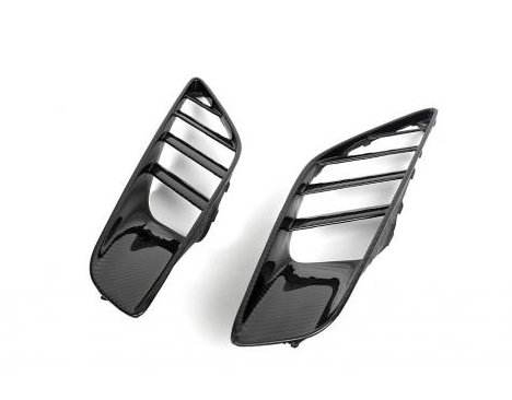 Chevrolet Corvette C7 Carbon Fiber Quarter Panel Intake Vents 2014-Up