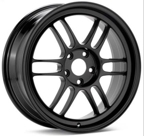 Enkei RPF1 18x10.5  15mm Offset 73mm Bore Matte Black Wheel