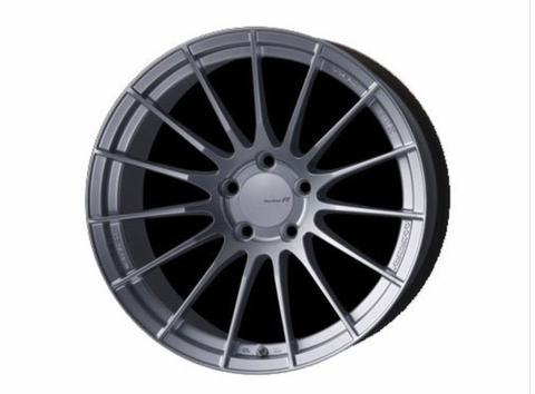 Enkei RS05-RR 18x9.5 43mm Offset Bore Sparkle Silver