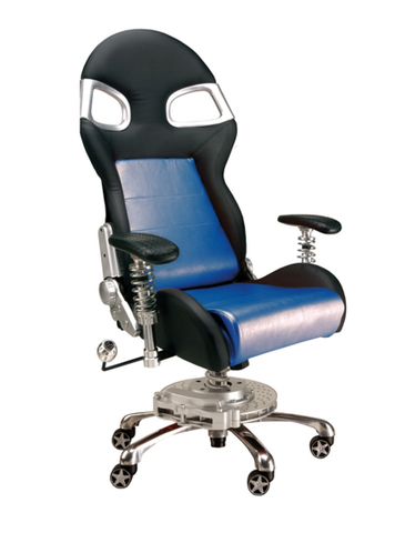 LXE Office Chair Blue