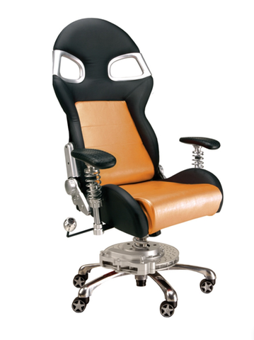 LXE Office Chair Orange