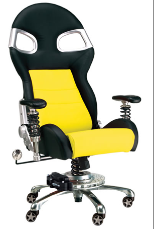 LXE Office Chair  Yellow