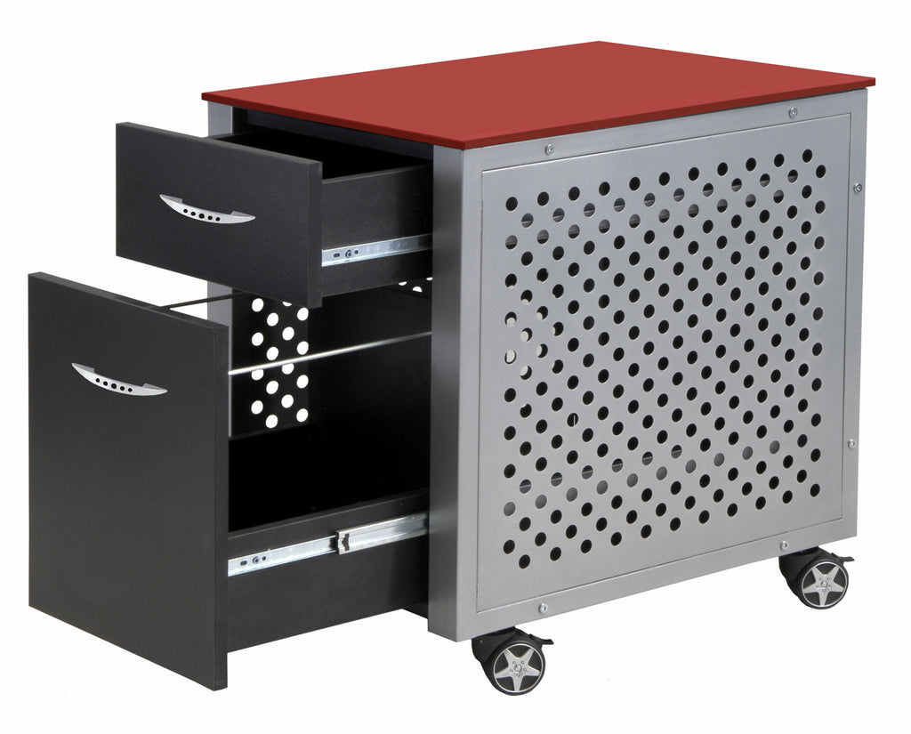 Pit Stop Furniture Racing Desk Series File Cabinet