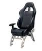 GT Series Receiver Chair Black