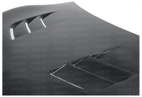 TS-style carbon fiber hood for 2012-2014 Scion FRS / Subaru BRZ