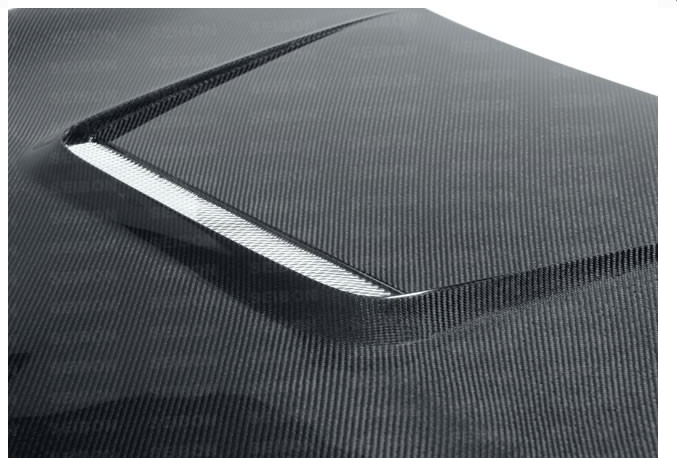 VS-style carbon fiber hood for 2012-2014 Scion FRS / Subaru BRZ