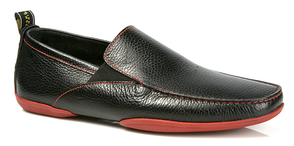 Michael Toschi Onda SE Black Pebble with Red Sole