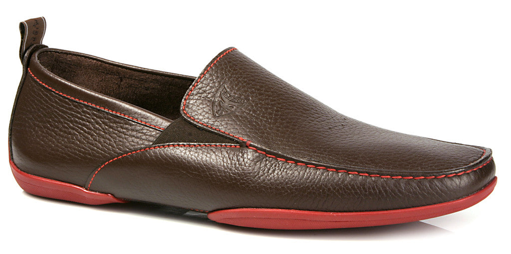 Michael Toschi Onda SE Chocolate Pebble with Red Sole