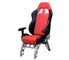 GT Series Receiver Chair Red