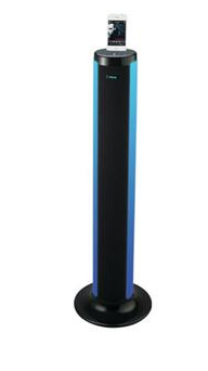 GlowTunes LED Bluetooth Tower
