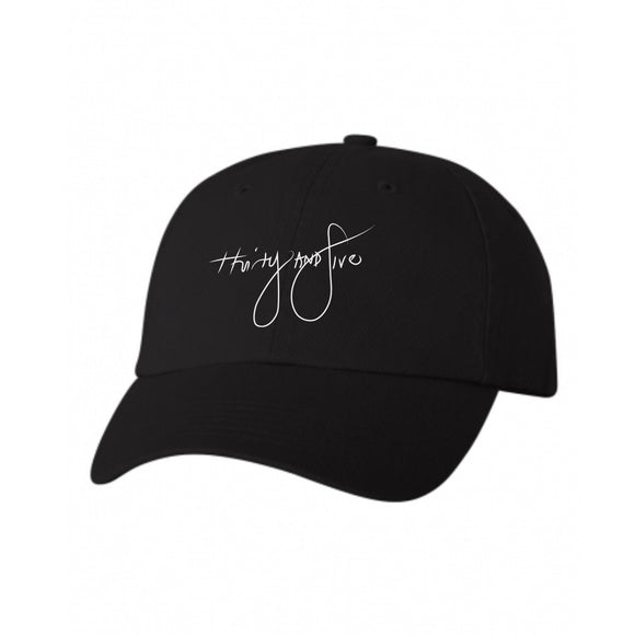 30:5 Dad Hat, Black - Good Friend Graphics